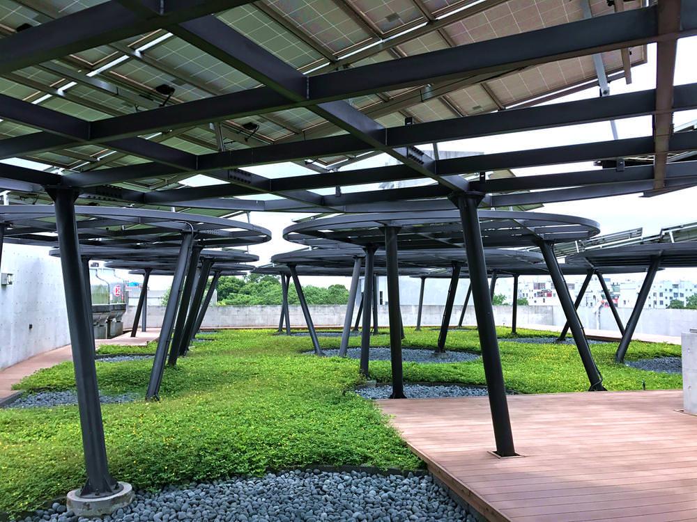 歐萊德太陽能屋頂