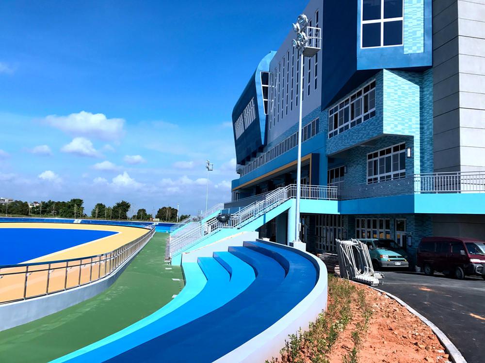 [沙鹿]台中港區運動公園,海線終於有正規滑輪溜冰場囉。