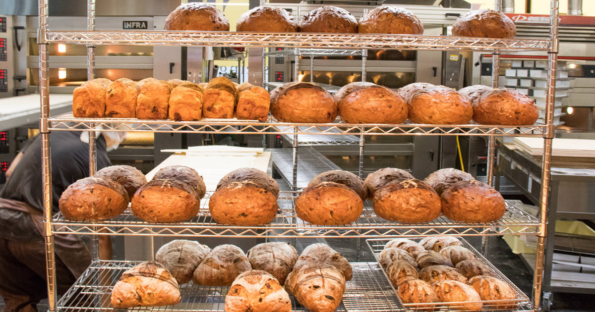 剛出爐的麵包