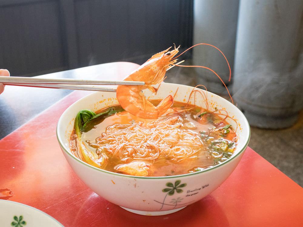 帝國牛肉麵的檳城蝦麵
