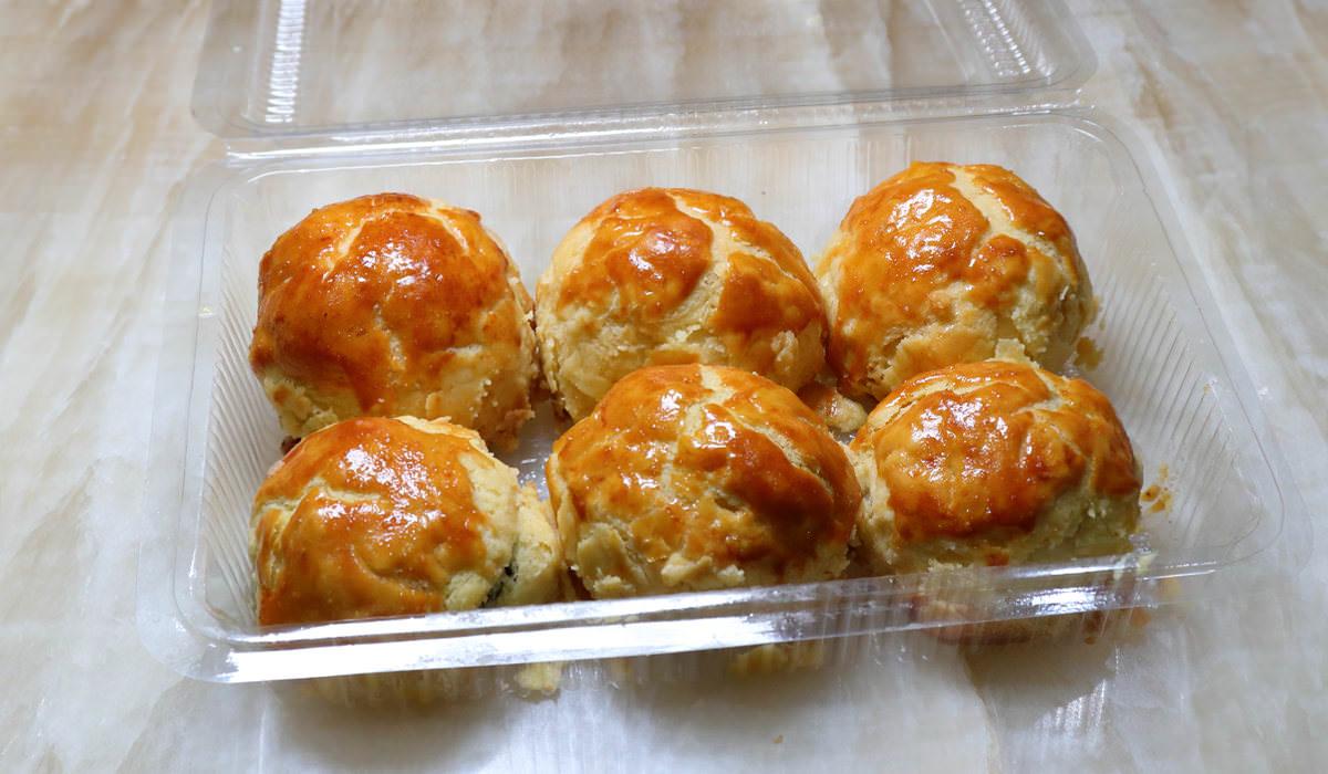 梧棲三美珍菠蘿蛋黃酥