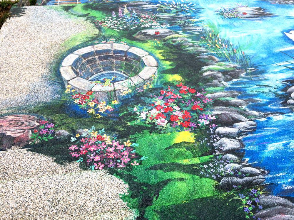 頂魚寮公園3D彩繪