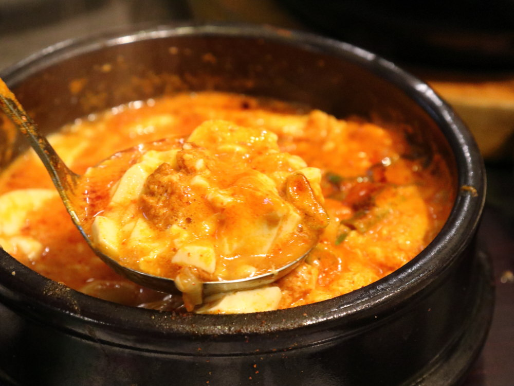三元韓式料理豆腐鍋