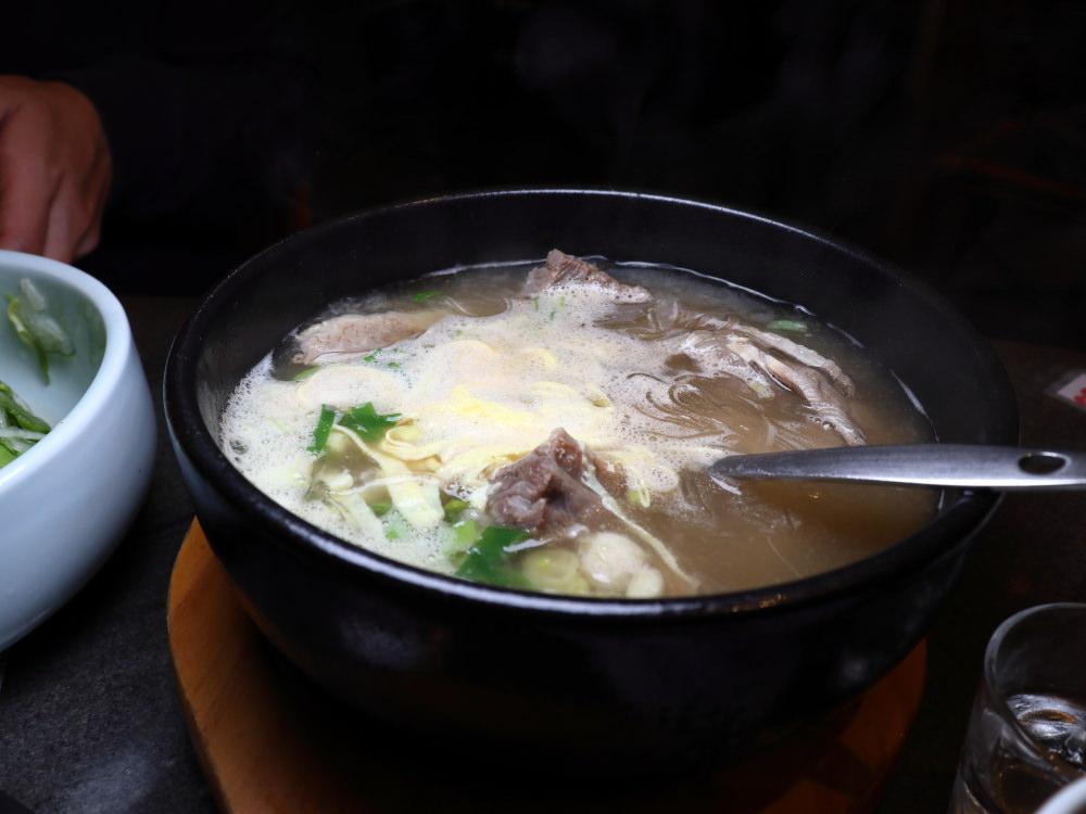 三元韓式料理牛骨湯