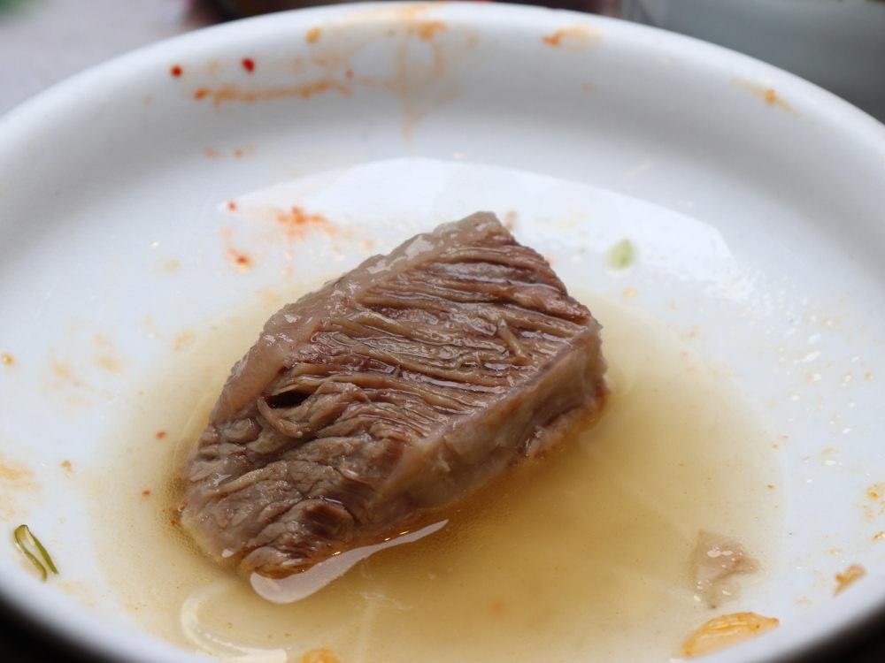 三元韓式料理牛尾湯