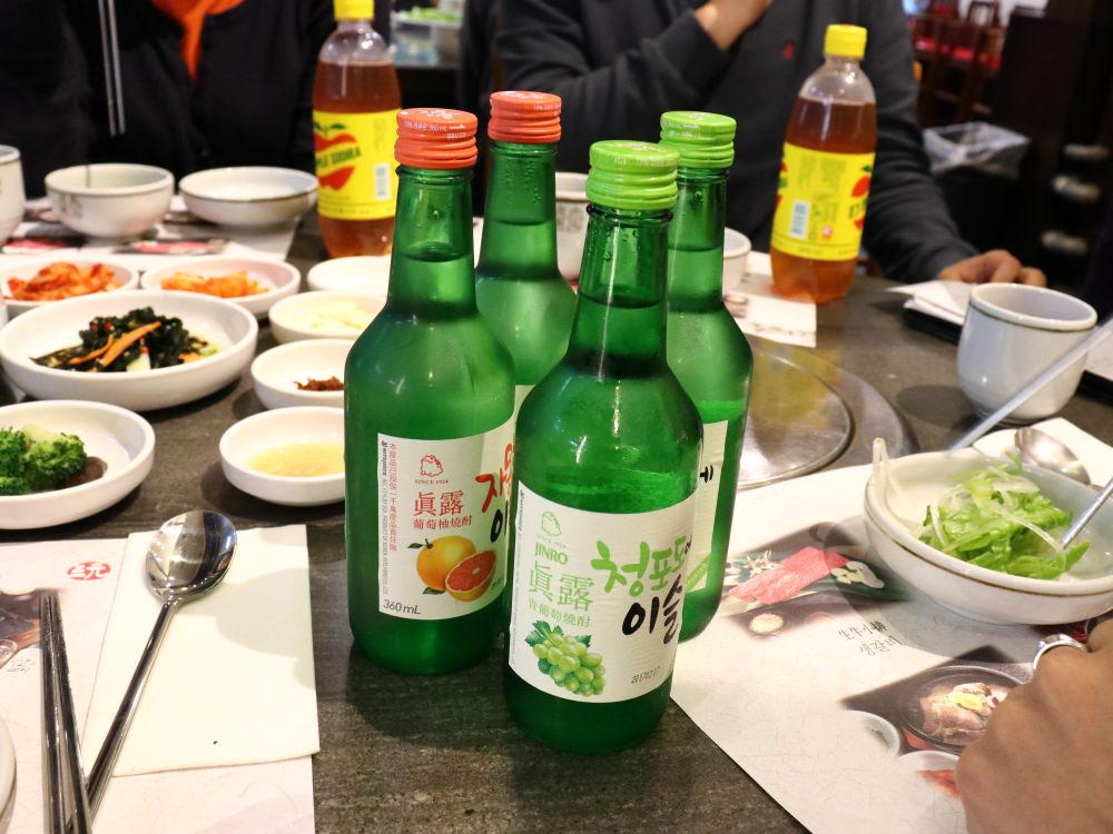 三元韓式料理真露