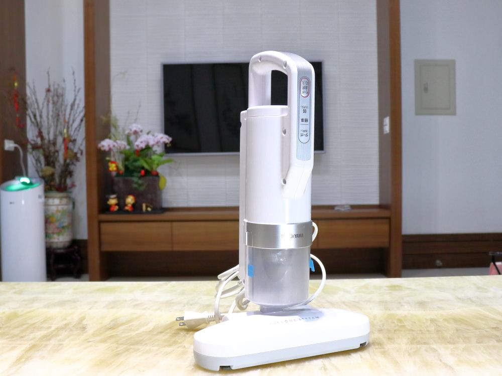[開箱]入手IRIS除塵螨吸塵器的兩個月後,灰塵偵測加高速拍打機種的使用心得,(除塵螨機推薦)