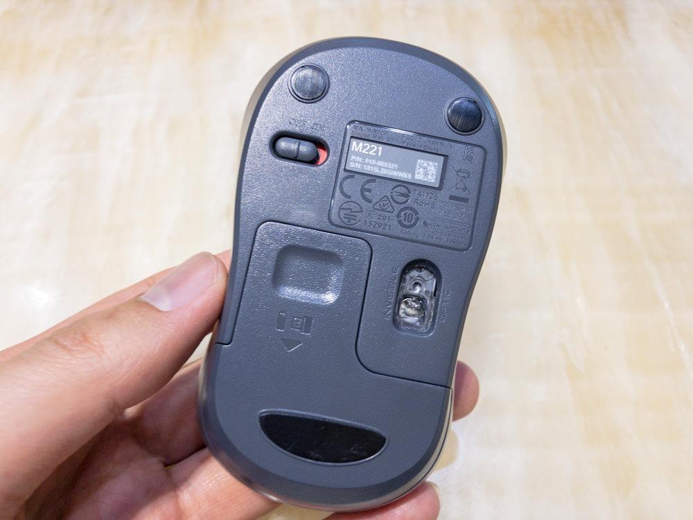 羅技M221靜音滑鼠