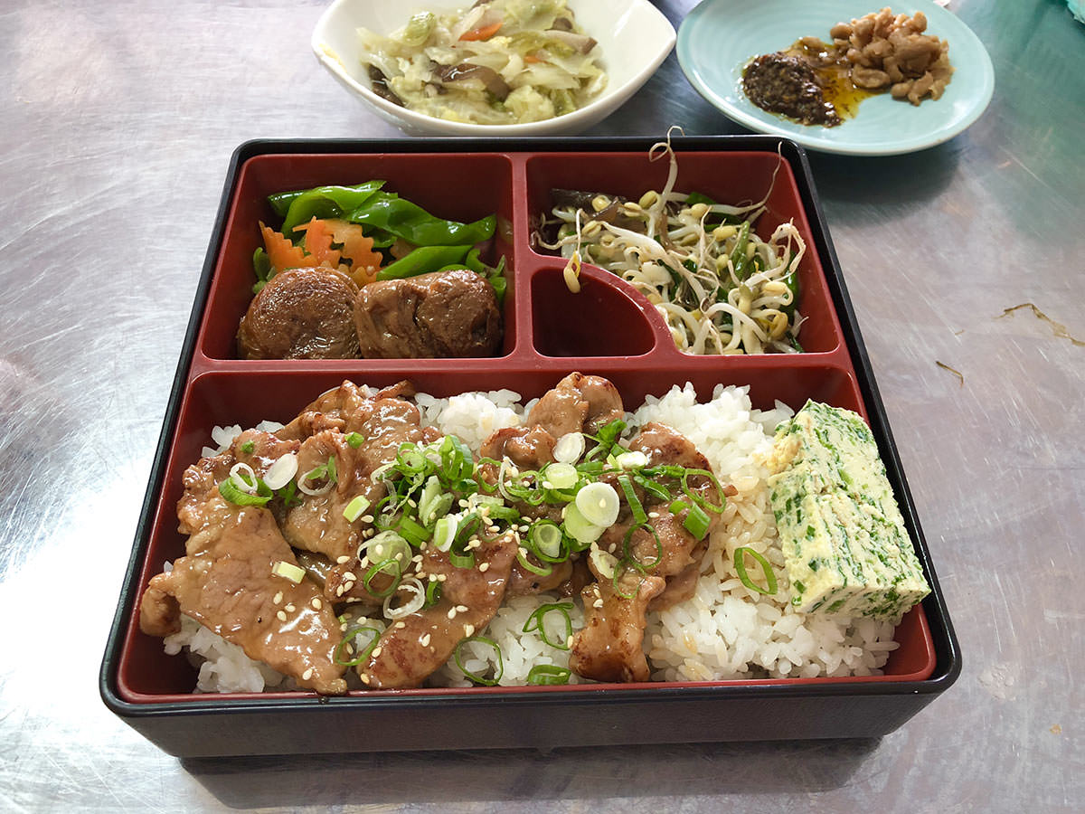 [清水]松竹燒肉飯,香又嫩的大火現炒美味便當,很精緻卻很平價。
