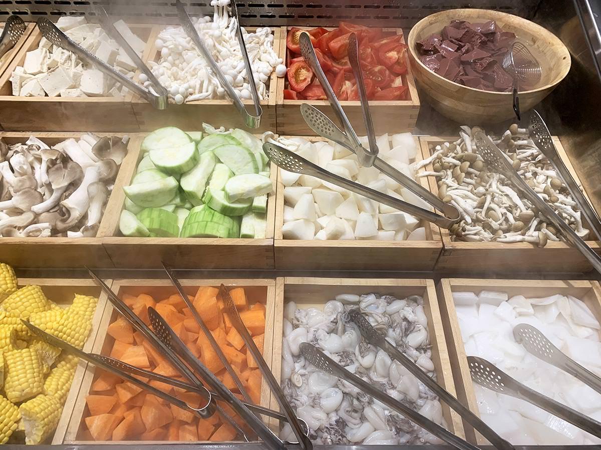 台中三井但馬屋 蔬菜海鮮