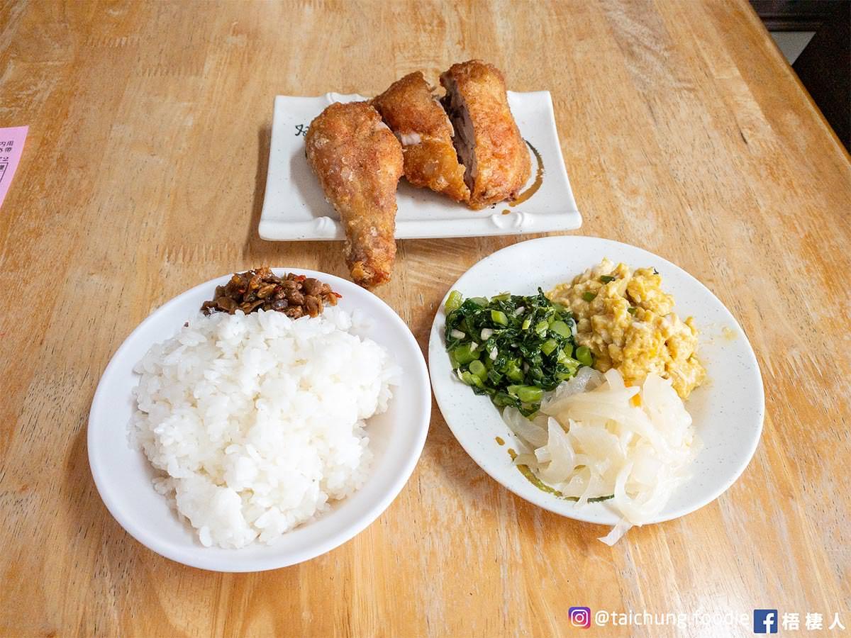 梧棲台南一甲子 雞腿飯