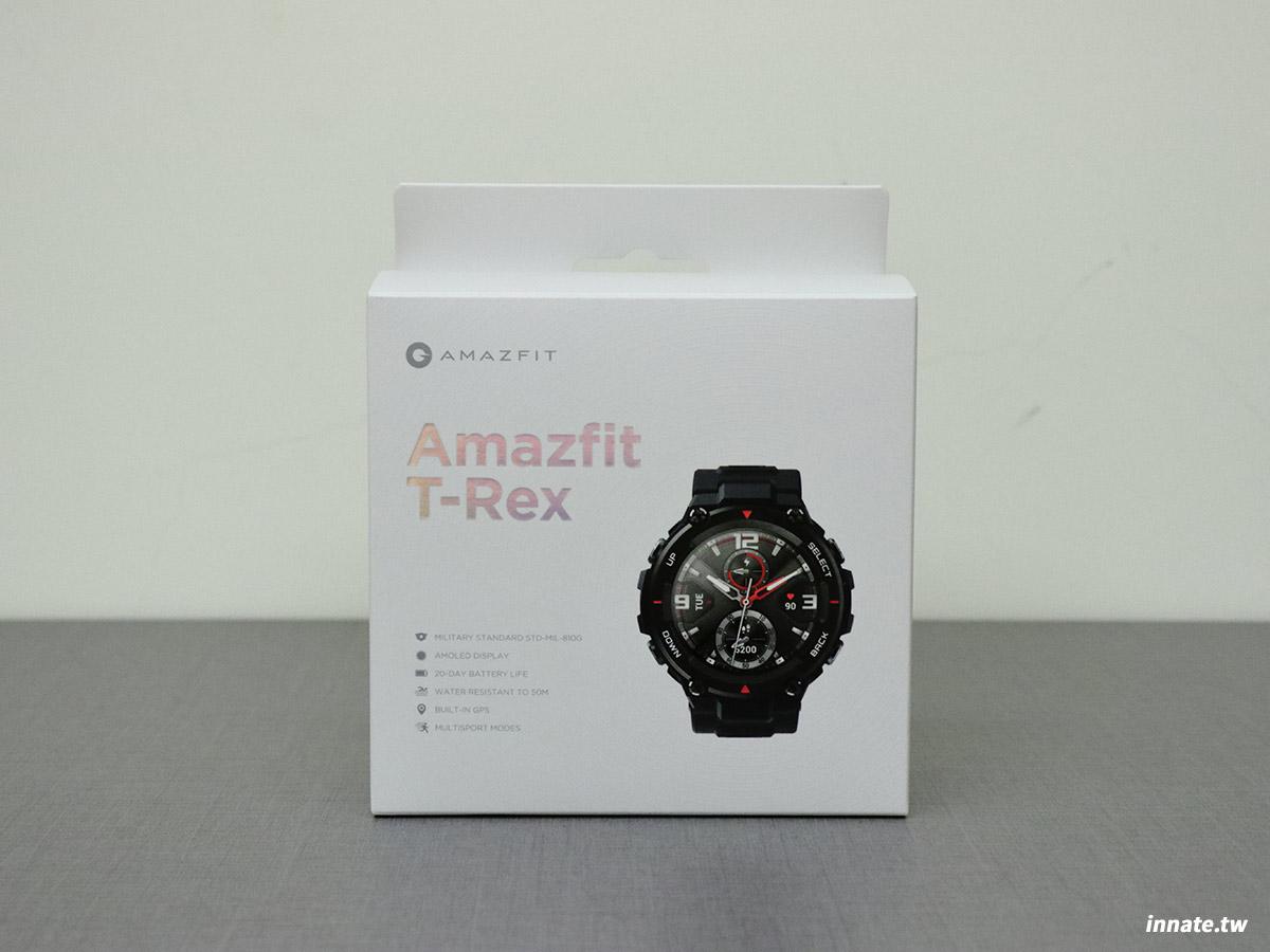 Amazfit T-REX 開箱
