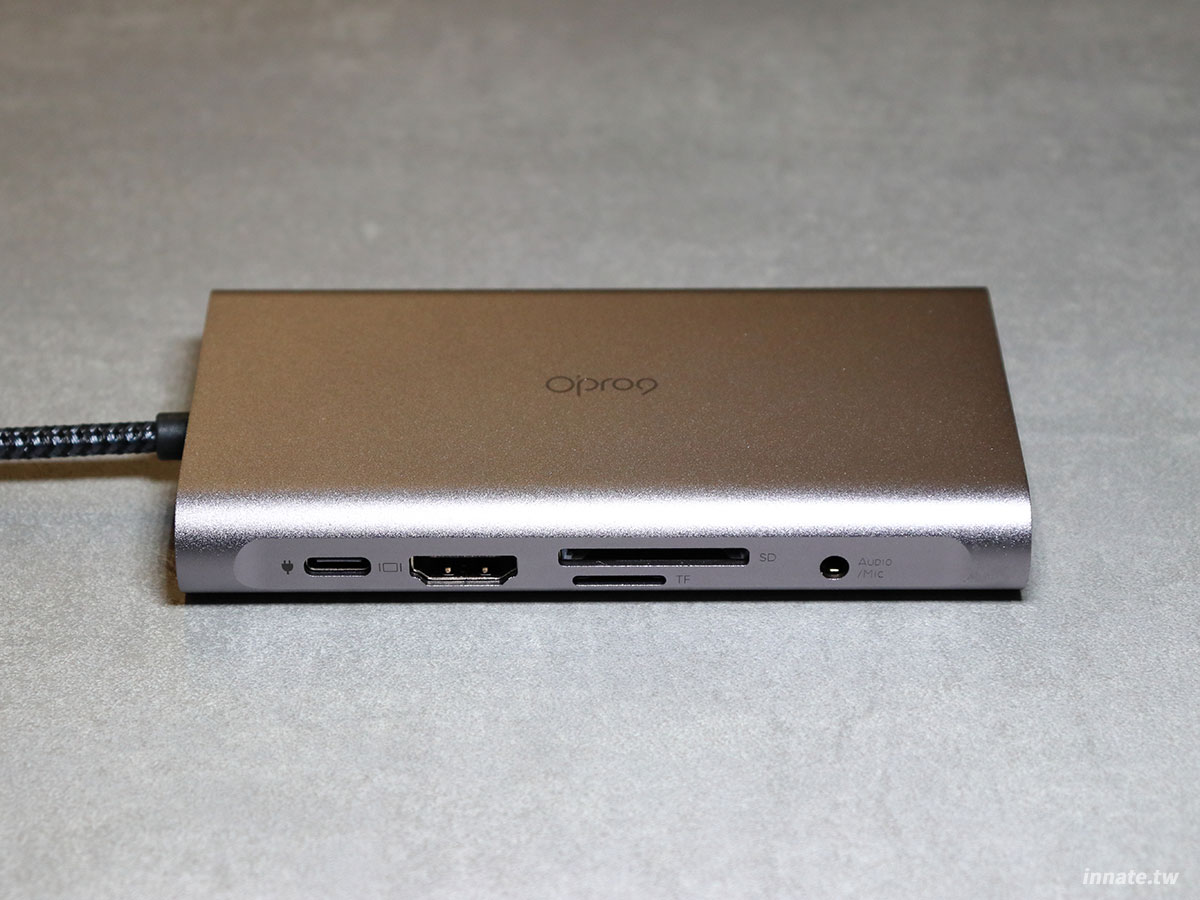 opro9 10埠多功能轉接器 type-c hub