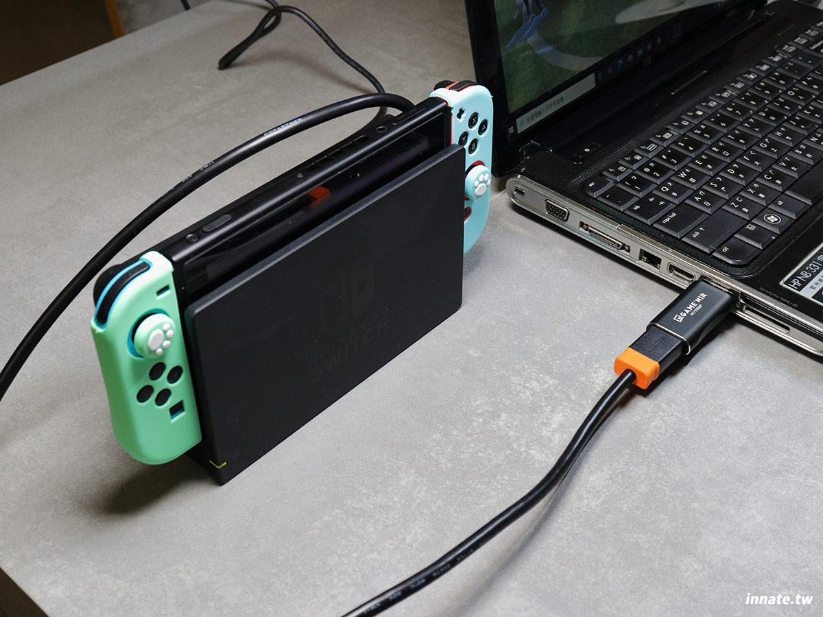 GAME'NIR switch筆電轉接器
