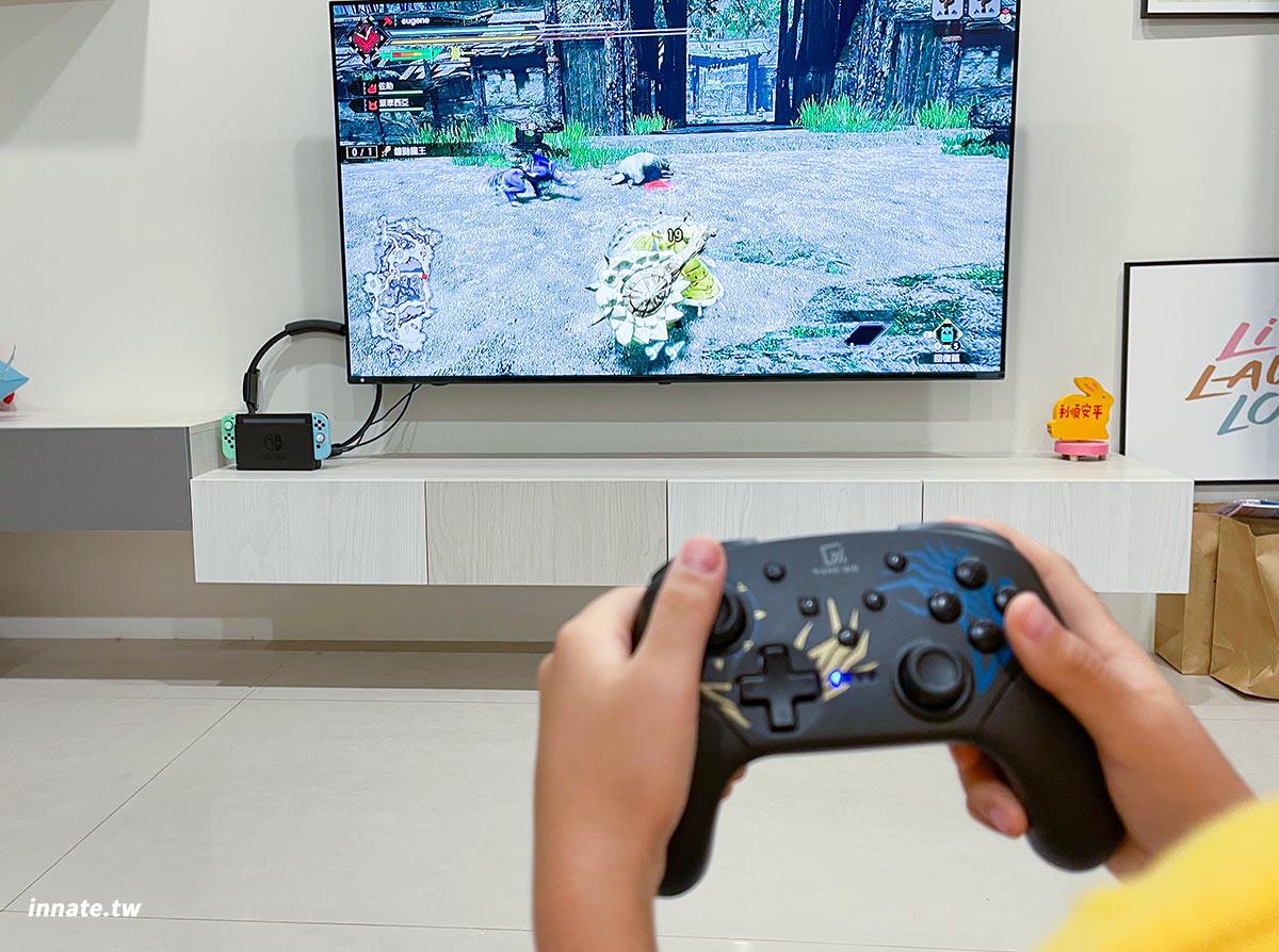 gamenir pro x dragon 龍紋特仕款 龍紋手把遊戲畫面