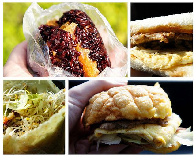 【台中沙鹿】靜宜商圈特色早餐懶人包,PUN餐車、告胖碳烤土司、米斯苜蓿芽手卷、青山飯糰。