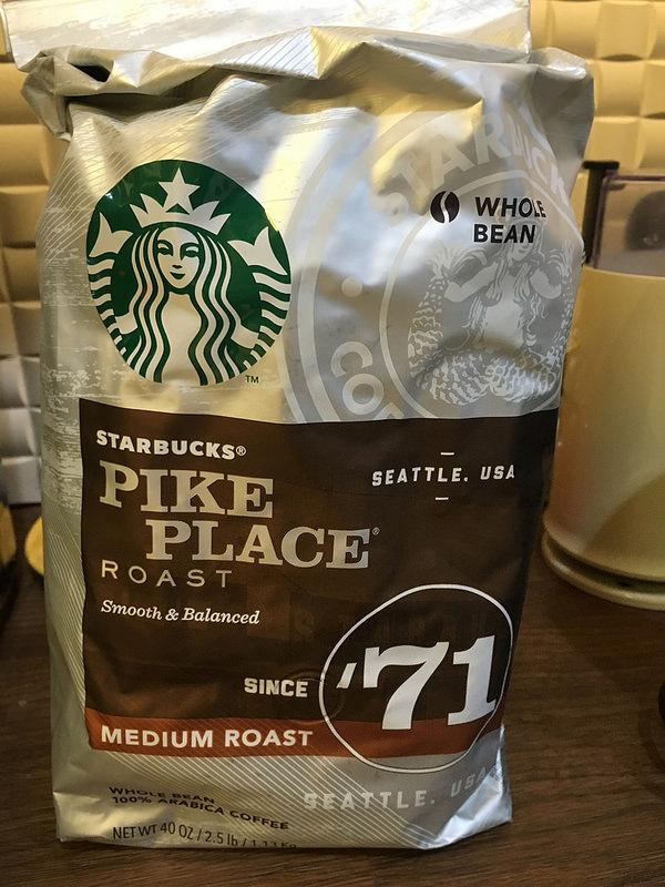 【分享】星巴克 派克市場咖啡豆 個人飲後感分享